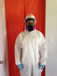 Worker in Personal Protective Equipment