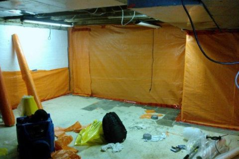 Asbestos Tile Removal and Replacement