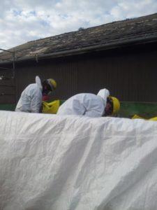 Ontario Asbestos roof abatement