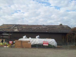 London Canada Asbestos roof abatement