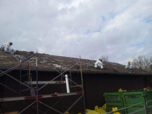 Hamilton Canada asbestos roof removal
